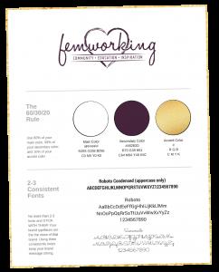 Femworking Graphic Design Cheat Sheet