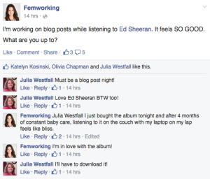 Femworking FB #1